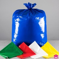 Coloured 100% recycled sacks